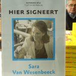 Life & business coach, professional organizer, spreker en auteur Sara Van Wesenbeeck signeert op de Boekenbeurs. Barkingdogs.be