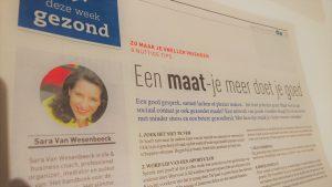 Life & business coach, mediator, professional organizer, spreker en auteur Sara Van Wesenbeeck