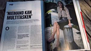 Life & business coach en professional organizer Sara Van Wesenbeeck in Trends
