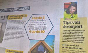 Tips voor prettig en productief thuiswerken van Sara Van Wesenbeeck in Het Laatste Nieuws - www.barkingdogs.be