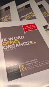 Opleiding 'Ik word OFFICE organizer' - Barking Dogs & Sara Van Wesenbeeck - www.barkingdogs.be