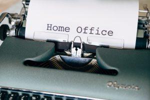 Tips voor een beter werkende thuiswerkplek van organizing coach Sara Van Wesenbeeck - www.barkingdogs.be