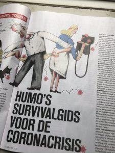 Slimme budgettips van expert Sara Van Wesenbeeck in Humo's survivalgids voor de coronacrisis - www.barkingdogs.be