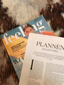 Plannen als een pro - slimme tijdtips van expert en coach Sara Van Wesenbeeck in Feeling - www.barkingdogs.be