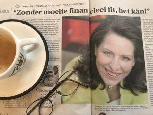 Sara Van Wesenbeeck is de budgetexpert van de krant De Zondag - www.barkingdogs.be